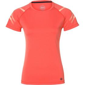 asics Icon - Camiseta Running Mujer - rojo